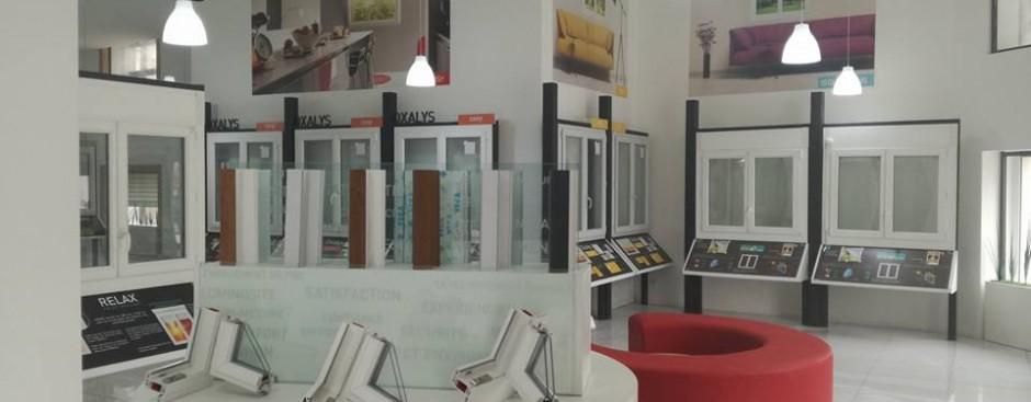 Aménagement des showrooms